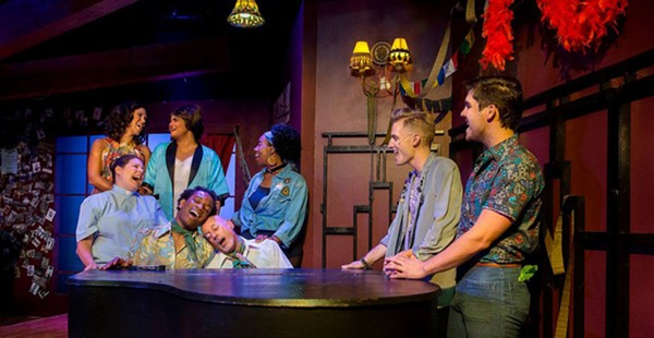"""Review: Richmond Triangle Players' """"The View UpStairs"""""""