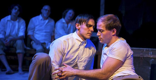 """Theater Review: Four-letter words and references to gay culture yield an earnest retelling of the New Testament in """"Corpus Christi"""""""