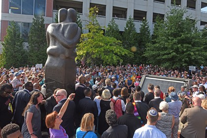 Faith Rally at the Reconciliation Statue in Shockoe Bottom