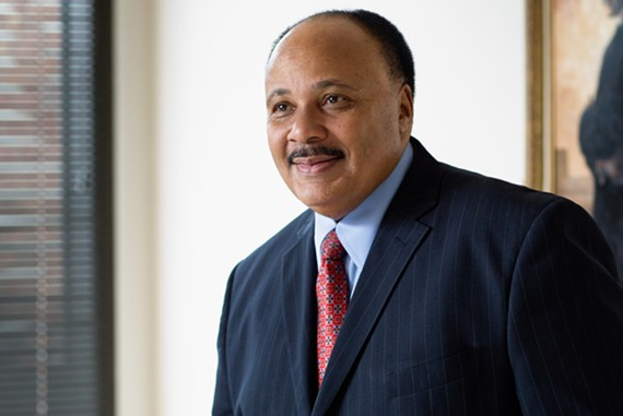 "Martin Luther King III will hold a conversation with Larry Sabato after the screening of the two-hour documentary, ""Charlottesville."""