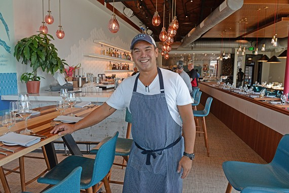 Chef Mike Ledesma's restaurant Perch will open to the public this weekend.