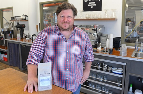 Stephen Robertson left a career in the arts to pursue a passion for specialty coffee.
