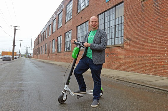 Strategic development directorTodd O'Boyle says Lime wants to bring scooters to Richmond, but the company takes a different approach than Bird.