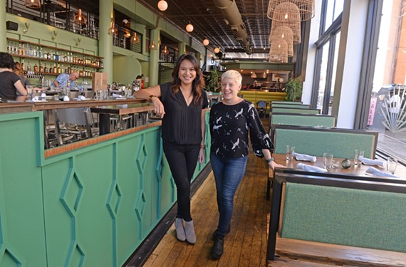 RVA Hospitality Group co-owners Frances Santarella and Liz Kincaid.