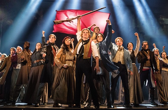 """The traveling cast of """"Les Miserables."""""""
