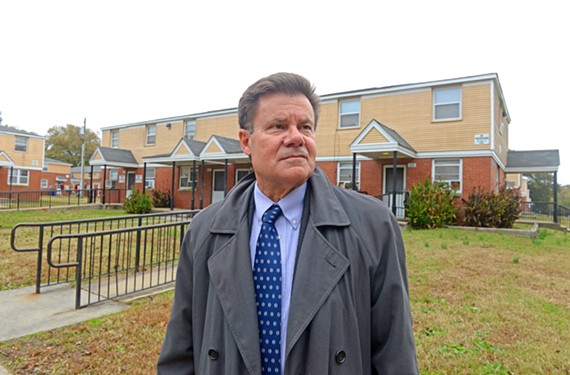 The housing authority interim Chief Executive Orlando Artze discusses long-term plans for Creighton Court during a fundamental shift in funding.