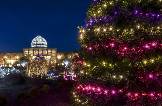 Dominion GardenFest of Lights at Lewis Ginter Botanical Garden. Nov. 23-Jan. 7.