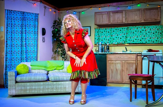 A wobbly Kimberly Jones Clark does fantastic work as Cindy Lou Who, who now lives in a double-wide trailer, deftly walking the line between comedy and tragedy.