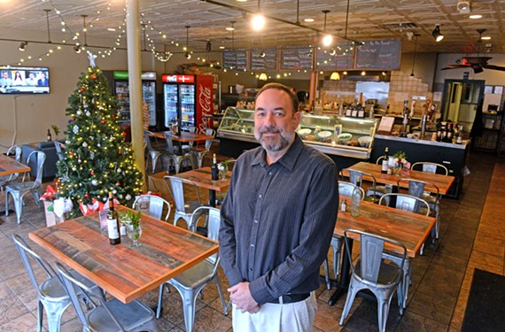 Branch and Vine owner Aaron Burnley wants the sandwich and wine spot to be a go-to Fan destination.