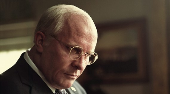 Christian Bale digs into the role of ultimate power grump, Vice President Dick Cheney.