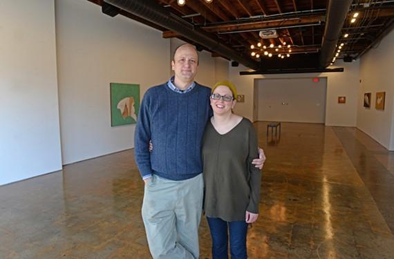 David Morrison and Claire Accardo