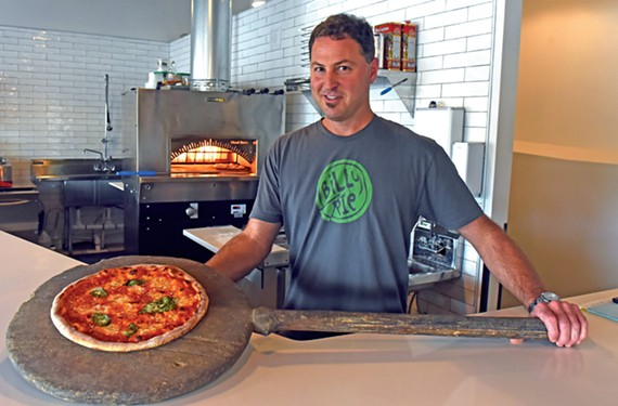 At Billy Pie on Patterson Avenue, the pizzas are both traditional and creative.