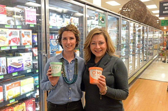 Last summer, Julie Bishop and Allison Monette launched O'My Dairy-Free Gelato.