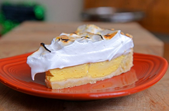 The vegan lemon meringue pie is one of several desserts at WPA Bakery.