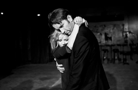 "Joanna Kulig and Tomasz Kot star in ""Cold War."""