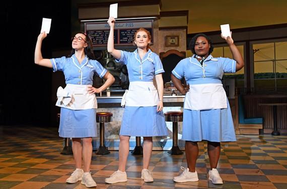 Jessie Shelton, Christine Dwyer and Tatiana Lofton.