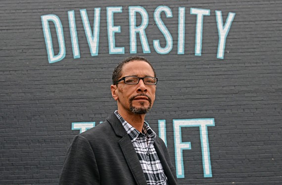 Rodney Lofton, vice president of Diversity Richmond, wants to highlight the work being done by people of color that the greater LGBTQ community may not know about.