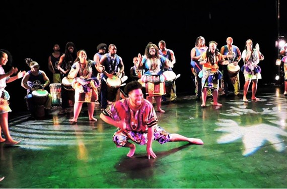 Ezibu Muntu African Dance