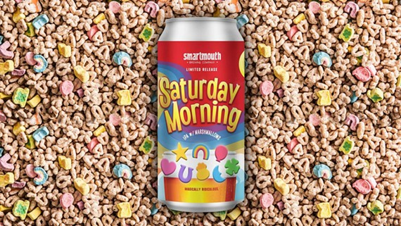 """Norfolk brewer Smartmouth's """"Saturday Morning"""" IPA evokes memories of watching Saturday morning cartoons while you get drink alcohol."""