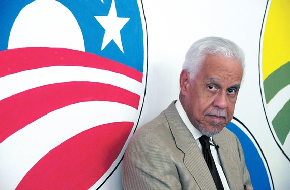 File photo of L. Douglas Wilder.