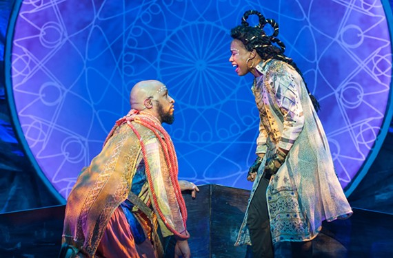 "Jerold Solomon and Antoinette Comer deliver some amazing vocal performances in Virginia Rep's ""Atlantis: A New Musical."""