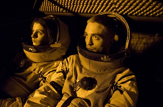 "Jessie Ross and Robert Pattinson in ""High Life"""