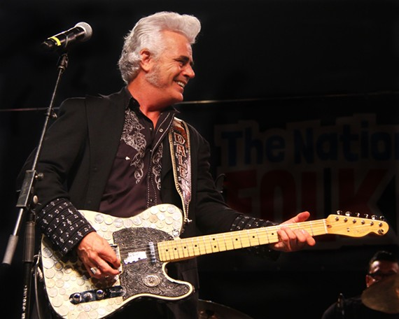 Austin, Texas-based Dale Watson brings his authentic, stubbornly independent honky tonk to this year's Richmond Folk Fest.