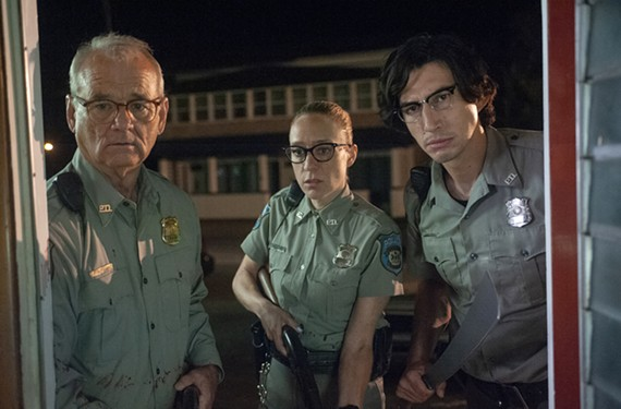 "Bill Murphy, Chloë Sevigny and Adam Driver play the local police force of Centerville in Jim Jarmusch's new zombie film, ""The Dead Don't Die,"" which boasts ""the greatest zombie cast ever disassembled."""