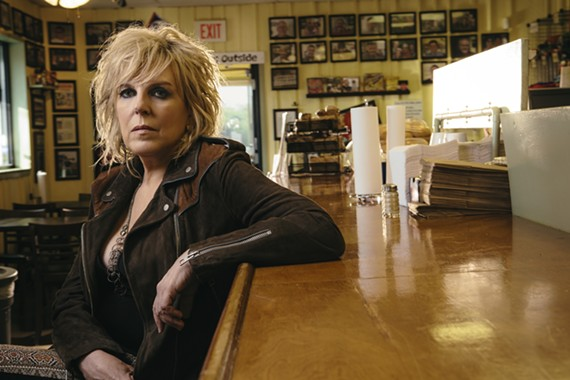 "Three-time Grammy winner Lucinda Williams and her band Buick 6 will be celebrating the 20th anniversary of her seminal ""Car Wheels on a Gravel Road"" album on Wednesday, Sept. 25."