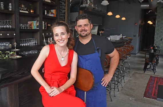 Grisette owners Megan and Donnie Glass want to bring local, seasonal, affordable food to Church Hill.