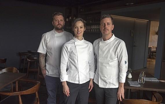 Longoven owners Andrew Manning, Megan Fitzroy Phelan and Patrick Phelan.