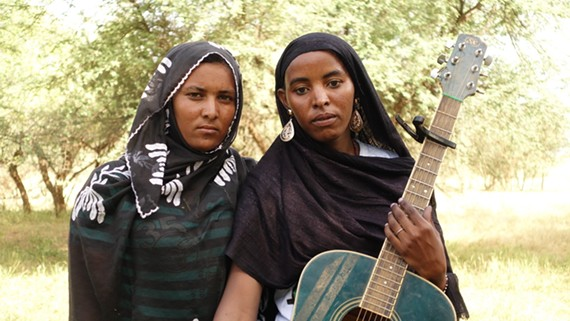 Les Filles de Illighadad perform Tuareg music at University of Richmond on Wednesday evening. Free and open to the public.