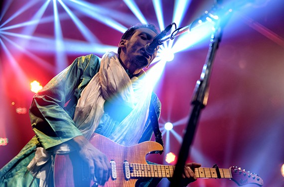 Omara Moctar, the guitarist known as Bombino, performs.