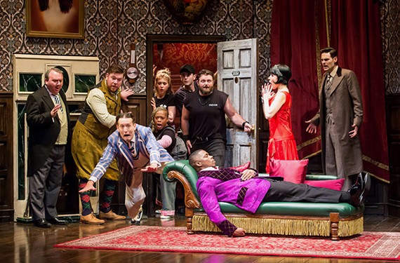 """Broadway in Richmond's """"The Play That Goes Wrong"""""""