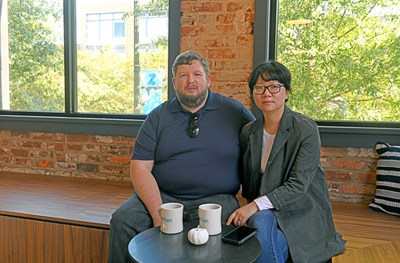 Rob Kennedy and his wife, Jin Hee Kennedy, help people looking to get started in the Richmond coffee service world.