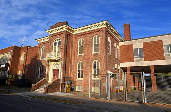 The central, Italianate structure of George Mason Elementary, at 813 N. 28th St. in Church Hill, was designed by renowned architect Charles M. Robinson in 1922. The Commission of Architectural Review has instructed the Richmond Public Schools to preserve the building.