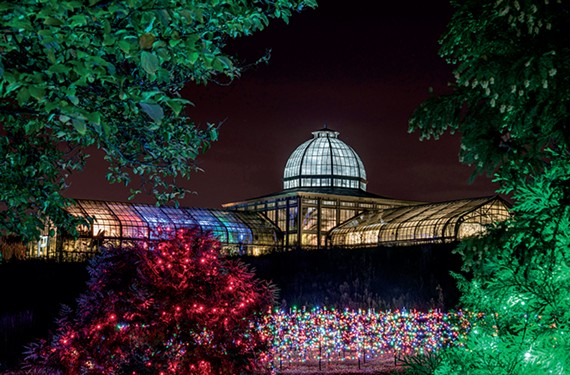 Gardenfest of Lights at Lewis Ginter Botanical Garden, through Jan. 6.
