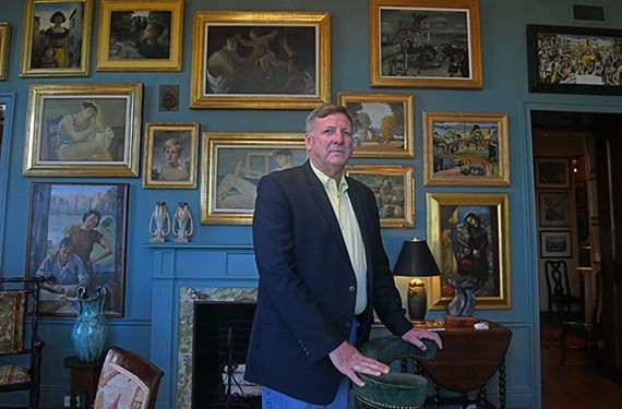 Keith Kissee is known for his decorated Cadillac in the Fan, but he's also an avid collector of 20th century art.
