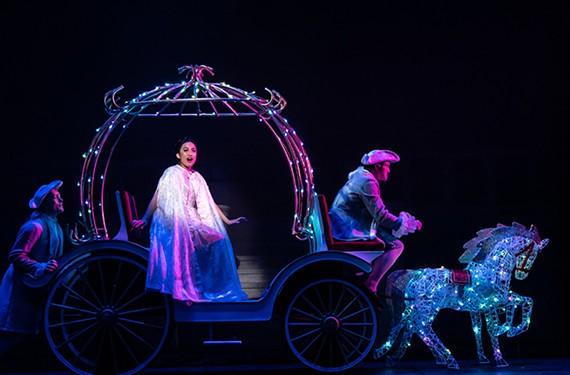"Quynh-My Luu gives ""a lovely performance"" as Cinderella in Virginia Rep's updated version of the classic fairy tale based on Douglas Carter Beane's book."