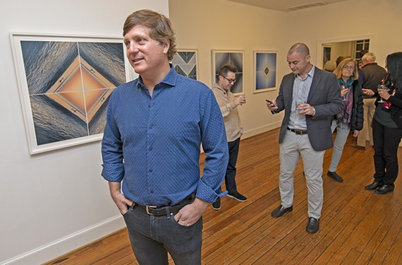 Barry Purcell comes from a long line of family artists: He told guests at his Reynolds Gallery opening that his great-great-grandfather taught art at Virginia Military Institute during the Civil War.