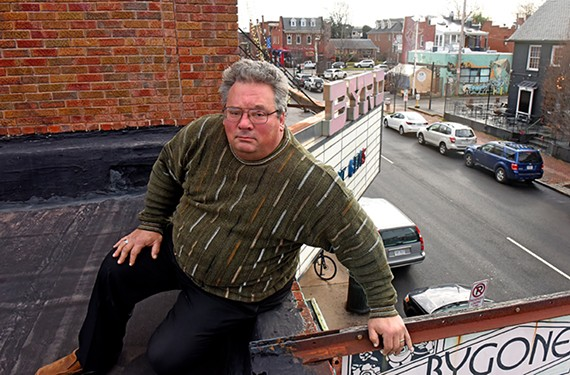 Former Byrd Theatre manager Todd Schall-Vess