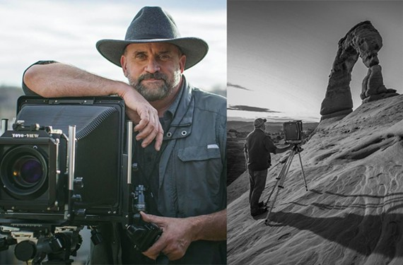 After his military service, photographer Frank Ruggles decided to document the change in America's parks by re-creating the famous images of Ansel Adams.