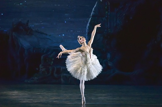 "American Ballet Theatre dancer Sarah Lane, a last-minute replacement, was the dance double for Natalie Portman in the psychological horror film ""Black Swan."""
