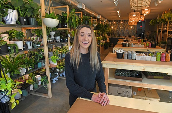 Leigh Mielkey, store manager for Plant Bar RVA, emphasizes that the staff is there to help people get creative with plants.