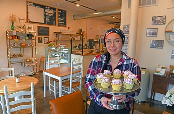 Trish Honaker is the owner of the popular Wonder City Bakery in Hopewell, which has been helping restore life to its Main Street.