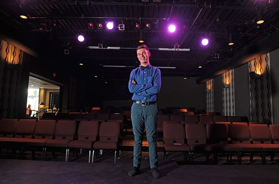 A leader in the local theater community, Deejay Gray is the program director with Spectrum, a theater arts education program for high school LGBTQ youth.