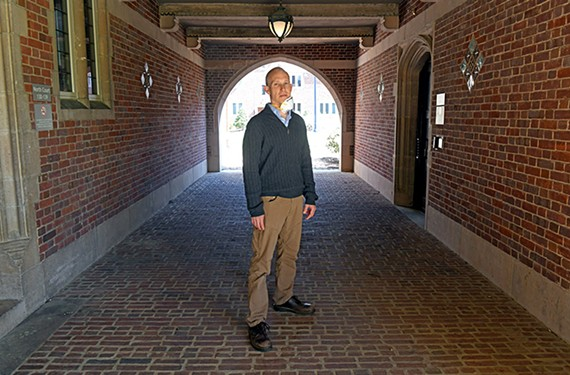 """Andy McGraw, an associate professor of music at the University of Richmond, is using a free public archive at audiblerva.org """"as a kind of stethoscope to understand the city as a civic body."""""""