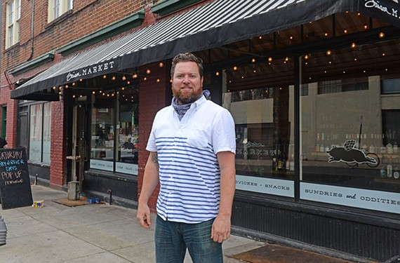 Jay Bayer of Saison on Marshall Street says restaurant owners are trying to rebuild relationships with customers.