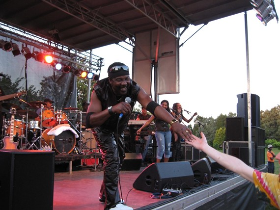 The always high-energy Toots Hibbert performing at Maymont in 2011.