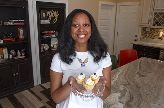 The Sweetest Thing owner/baker Leonda Jiggetts